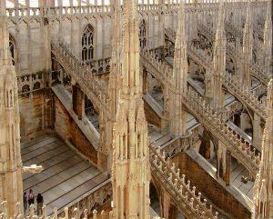 Milan Duomo, Roof Detail